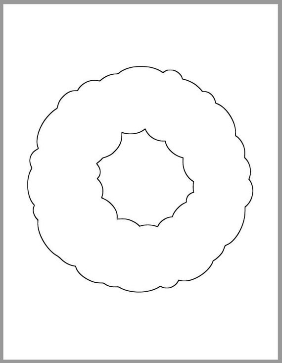 wreath template printable 7 inch wreath template printable template christmas etsy wreath printable template