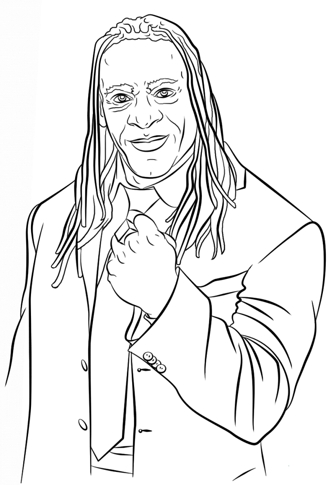 wwe color sheets wwe dwayne quotthe rockquot johnson coloring page free color sheets wwe