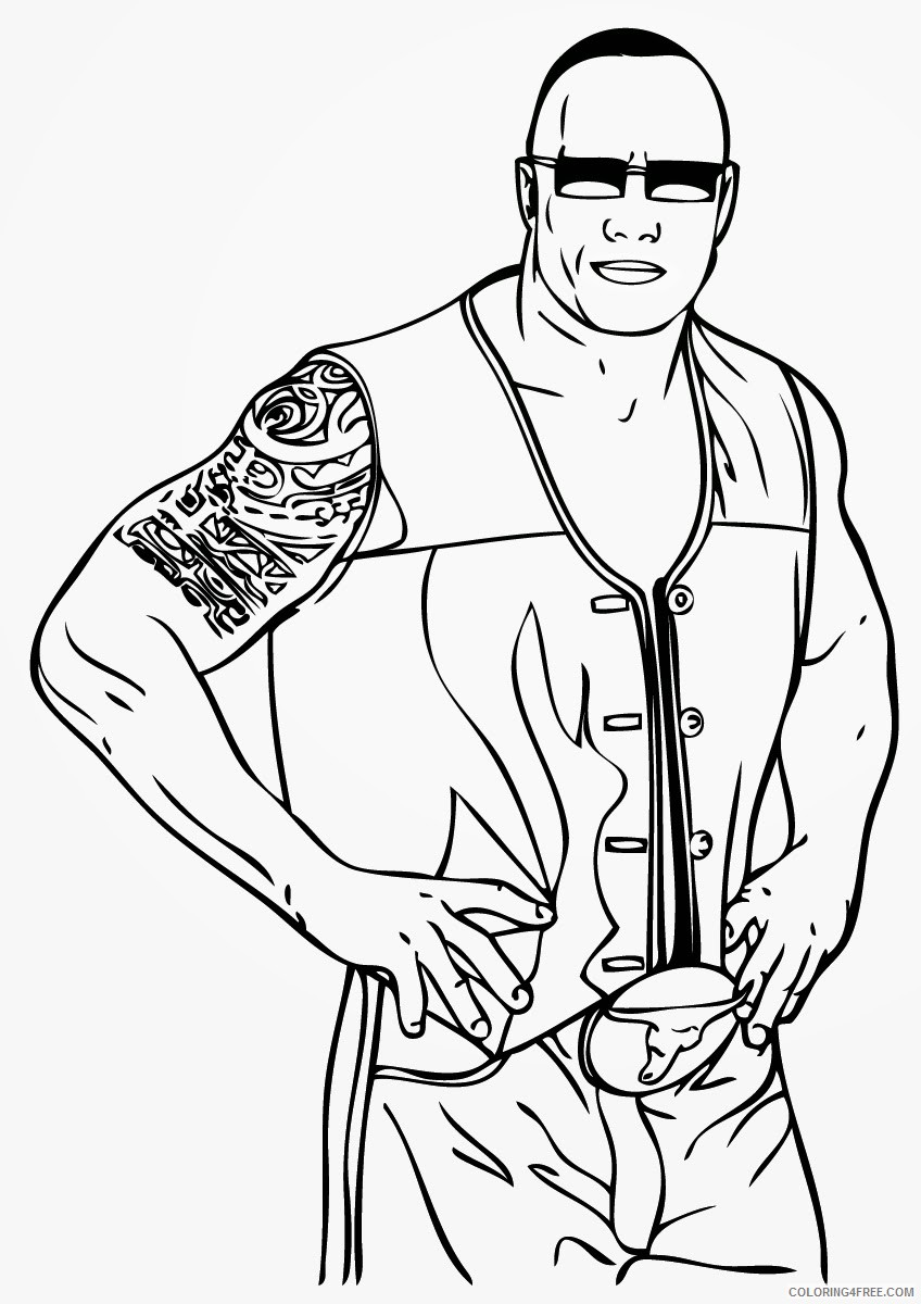 wwe color sheets wwe printable coloring pages wwe coloring pages free wwe color sheets