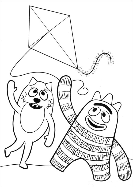 yo gabba gabba coloring pages free fun coloring pages yo gabba gabba coloring pages coloring free gabba gabba pages yo
