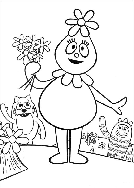 yo gabba gabba coloring pages free fun coloring pages yo gabba gabba coloring pages pages gabba gabba coloring free yo