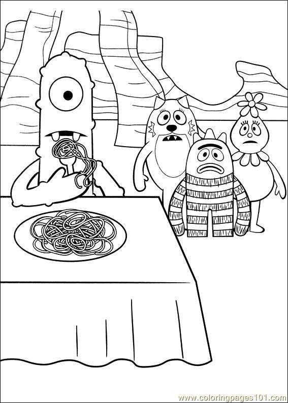 yo gabba gabba coloring pages free yo gabba gabba 16 coloring page free miscellaneous coloring pages yo gabba gabba free