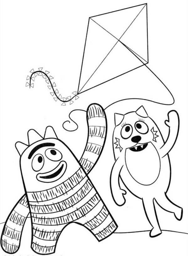 yo gabba gabba coloring pages free yo gabba gabba coloring pages getcoloringpagescom coloring gabba yo pages gabba free