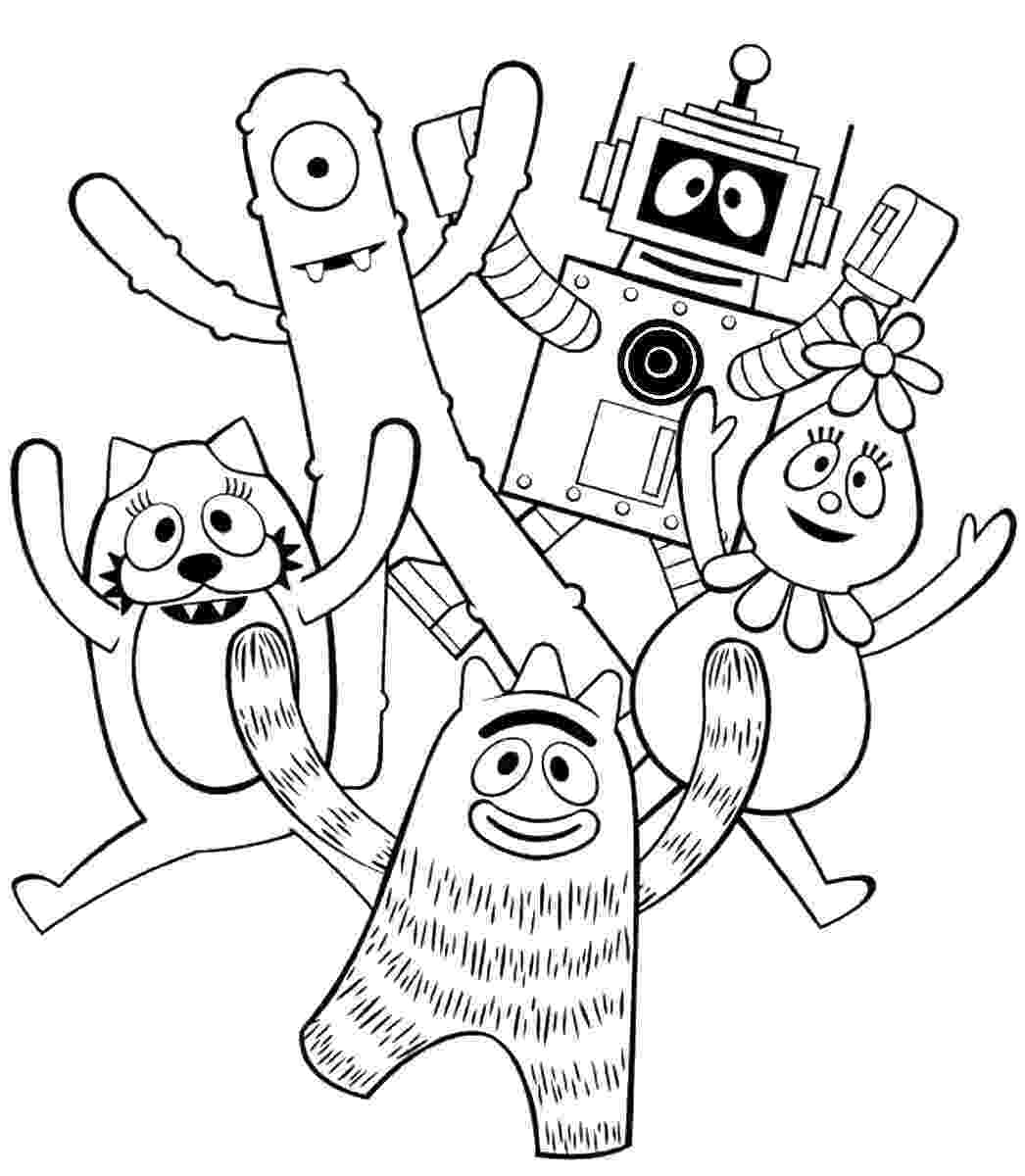 yo gabba gabba coloring pages fun coloring pages yo gabba gabba coloring pages yo gabba coloring pages gabba