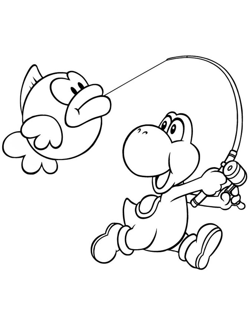 yoshi printable coloring pages free super mario yoshi yes coloring page wecoloringpagecom free coloring pages printable yoshi