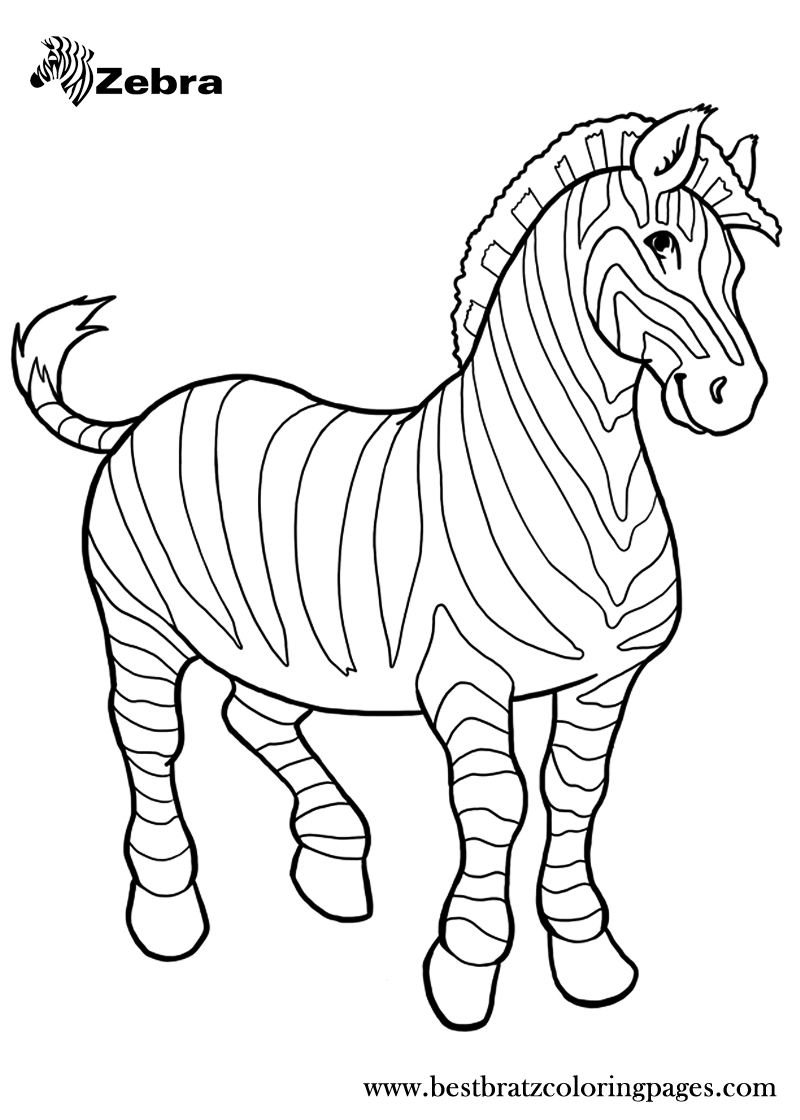 zebra coloring pages free printable free printable zebra coloring pages for kids zebra zebra printable coloring free pages