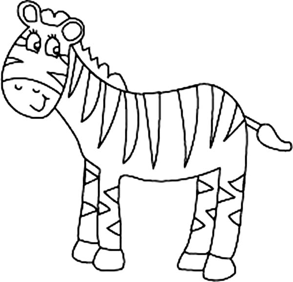 zebra pictures to colour ausmalbild zebra geht davon ausmalbilder kostenlos zum colour zebra to pictures