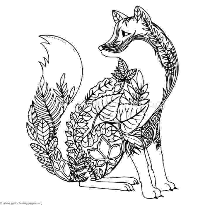 zentangle colouring pages animals zentangle wolf coloring pages getcoloringpagesorg colouring animals pages zentangle