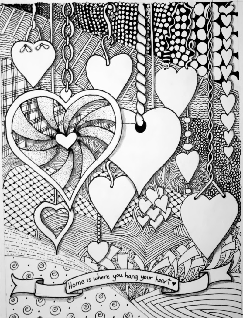 zentangle patterns coloring pages hotcakes summer art challenge zentangle zentangle coloring patterns pages