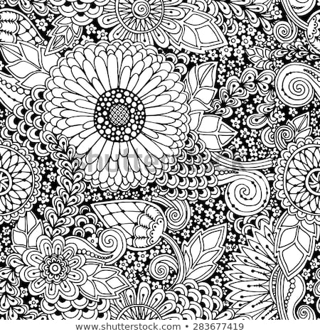 zentangle patterns coloring pages seamless pattern flowers ornate zentangle texture stock pages zentangle patterns coloring