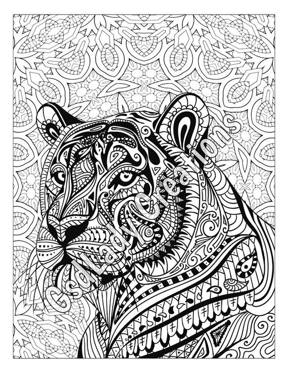 zentangle patterns coloring pages zen tiger animal art page to color zentangle animal pages patterns coloring zentangle