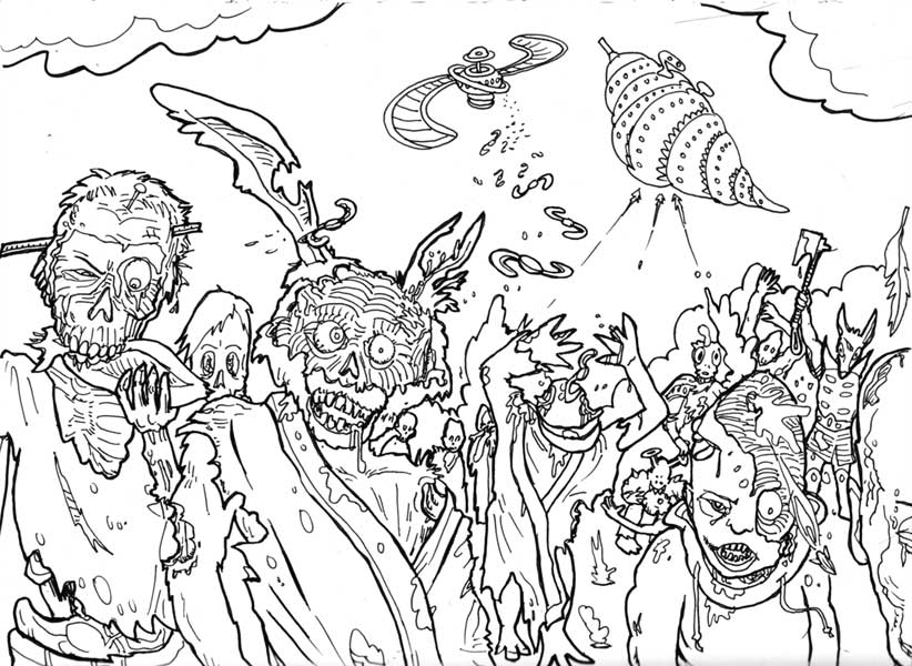 zombie coloring pages free 82 best zombie coloring images on pinterest coloring free zombie pages