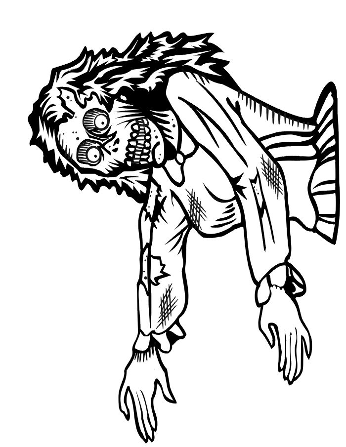 zombie coloring pages free free printable zombie coloring pages for kids cool2bkids pages zombie coloring free