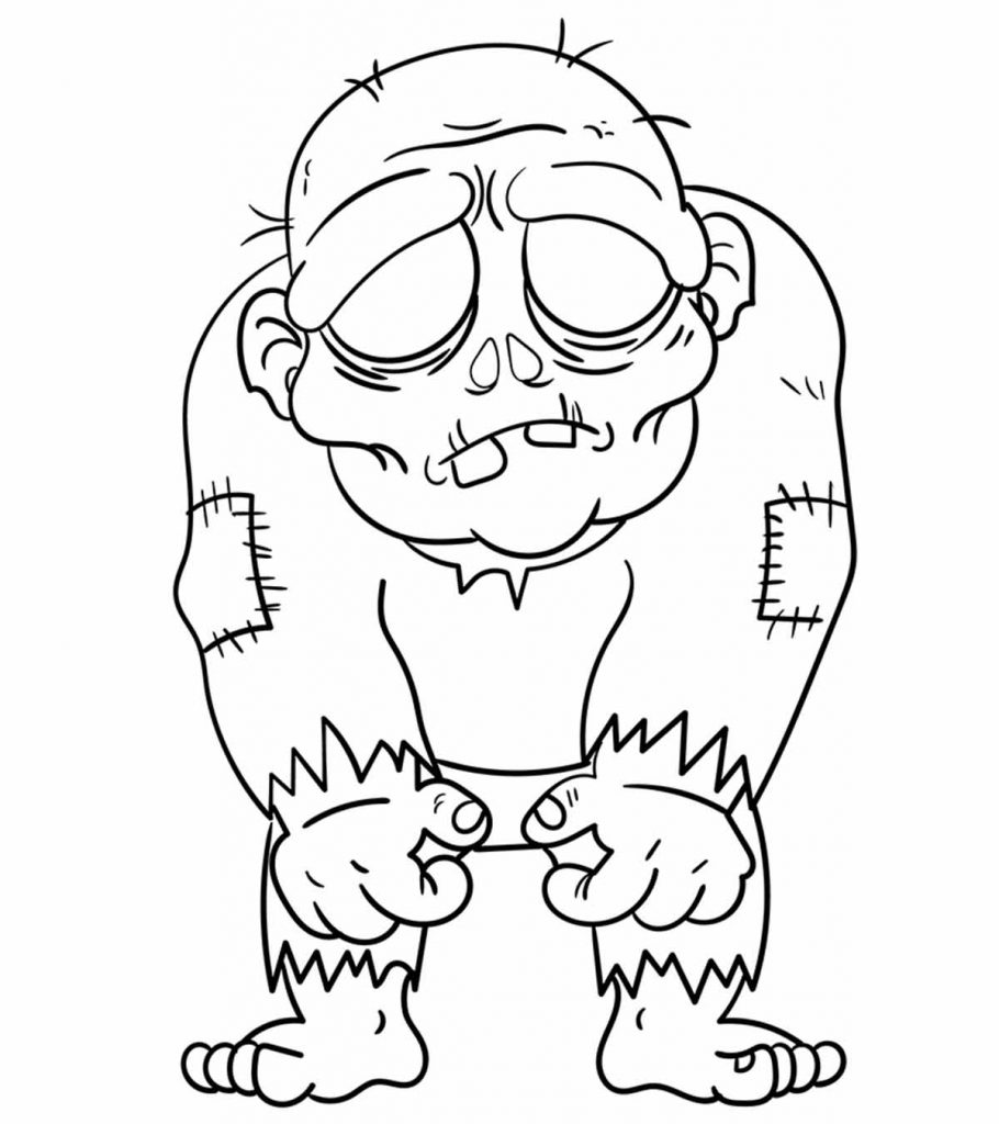 zombie coloring pages free printable zombies coloring pages for kids coloring zombie pages