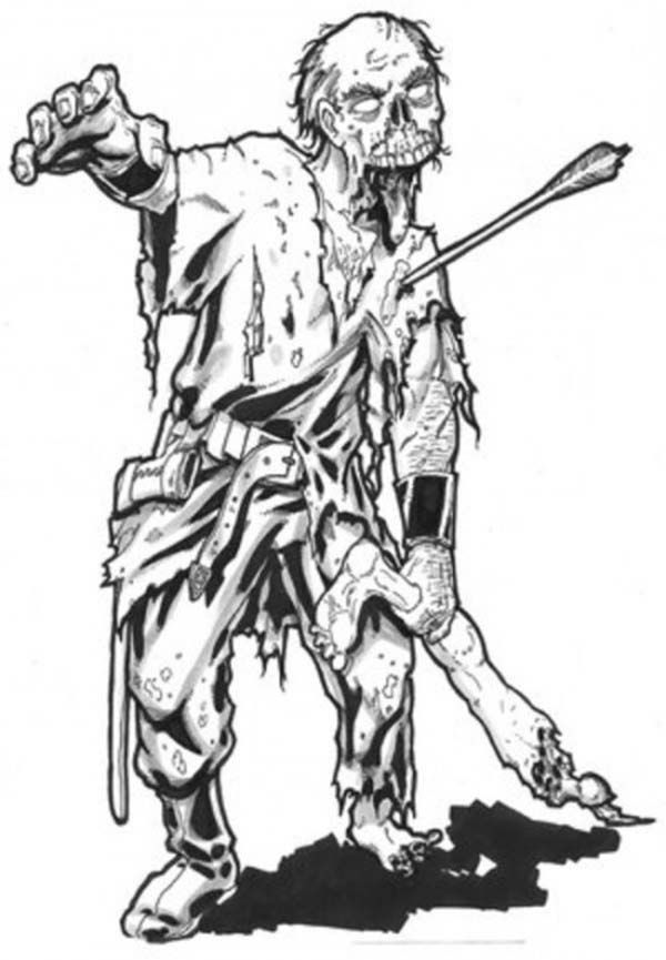 zombie coloring pages free scary zombie coloring pages coloring home free coloring zombie pages