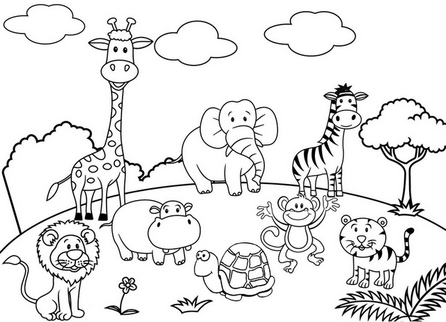 zoo animal coloring book 34 best of zoo coloring pages logo and coloring page animal book zoo coloring