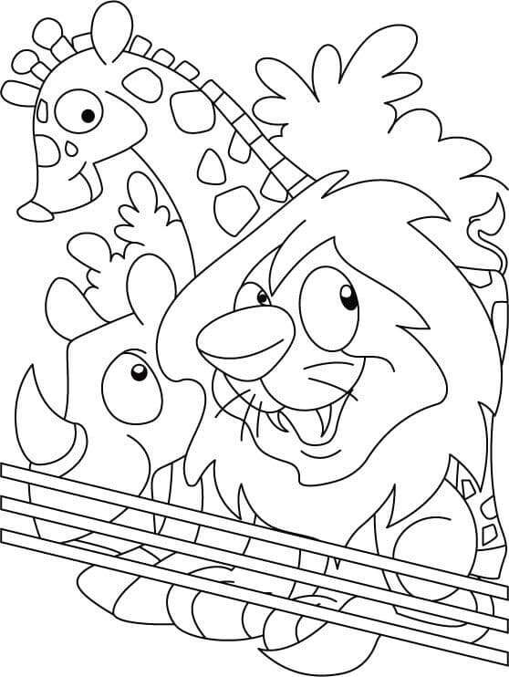 zoo coloring pages 35 zoo coloring pages coloringstar coloring pages zoo