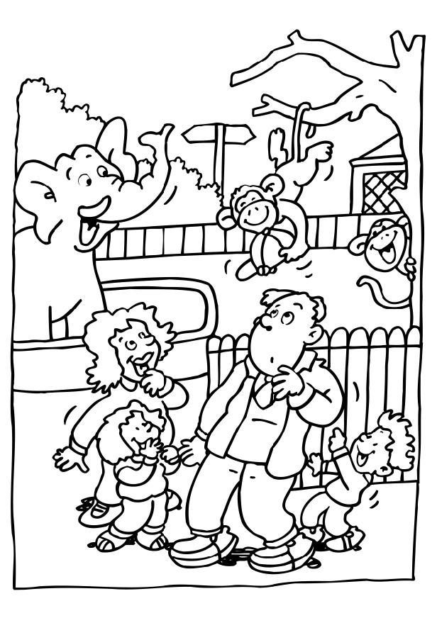 zoo coloring sheets zoo coloring pages coloringpages1001com coloring zoo sheets