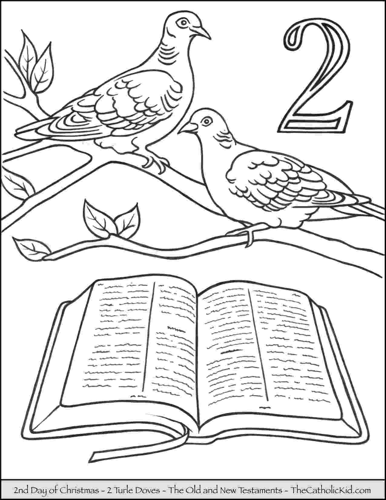 12 days of christmas coloring pages 12 days of christmas coloring pages thecatholickidcom coloring days of pages christmas 12