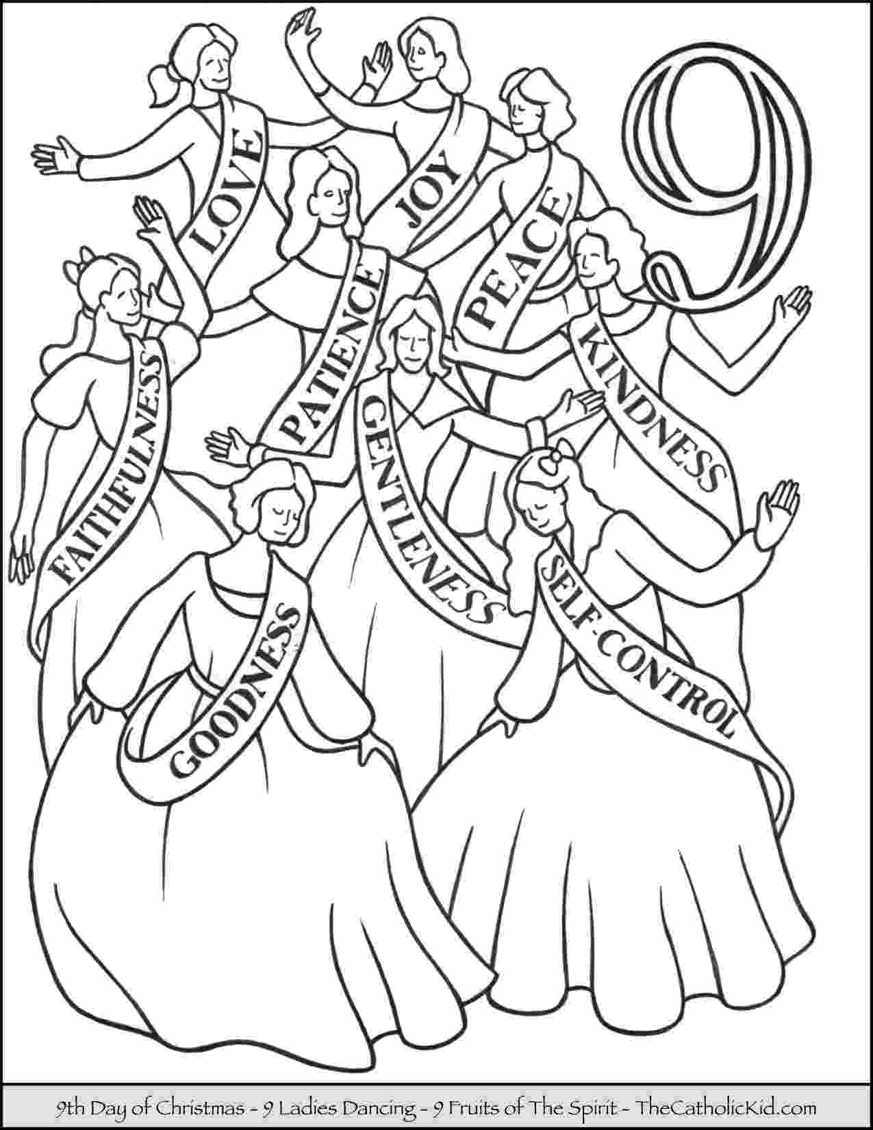 12 days of christmas coloring pages 12 days of christmas coloring pages thecatholickidcom pages christmas 12 of coloring days