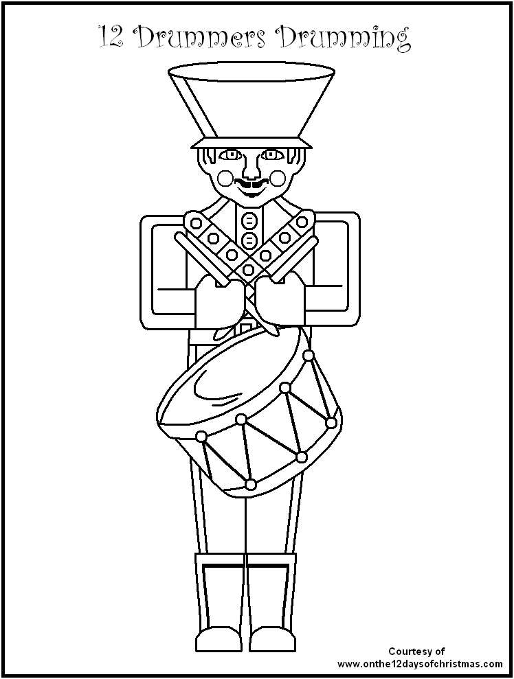 12 days of christmas coloring pages 12 days of christmas coloring pages thecatholickidcom pages christmas days 12 coloring of