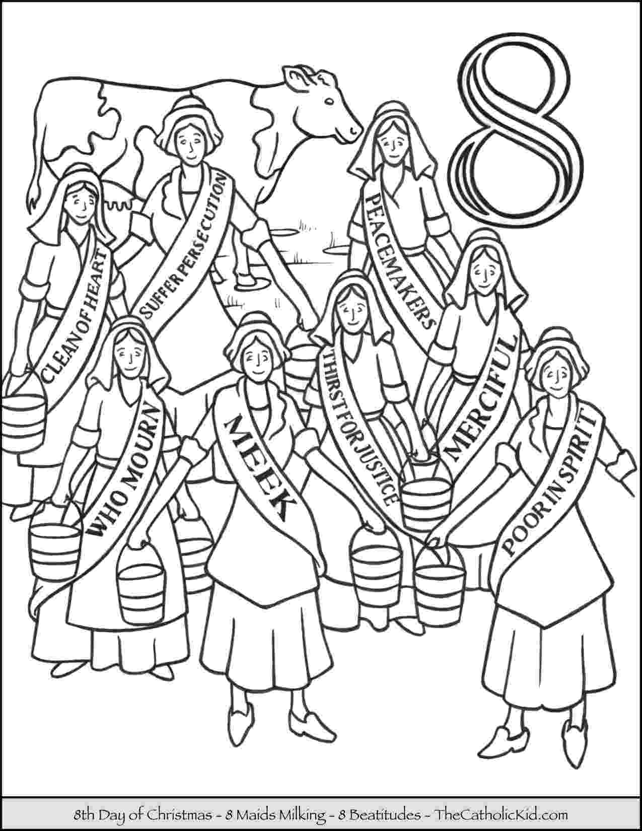 12 days of christmas coloring pages twelve days of christmas coloring pages free at coloring 12 days of christmas pages