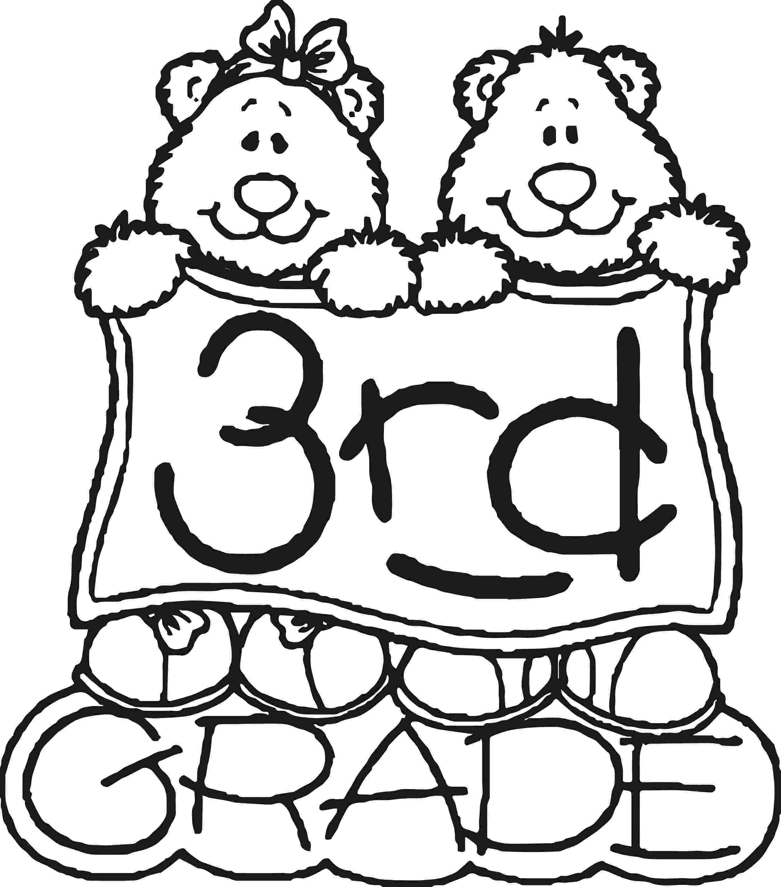3rd grade coloring pages 3rd grade bear coloring page wecoloringpagecom 3rd pages grade coloring
