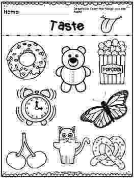 5 senses coloring pages for preschoolers 5 senses all preschool senses preschool 5 senses coloring for 5 preschoolers senses pages