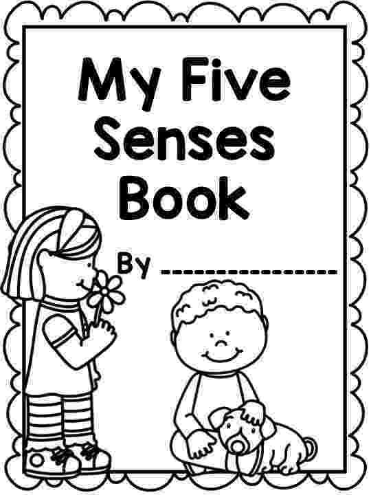 5 senses coloring pages for preschoolers 5 senses flip books flap book my five senses senses preschoolers 5 for coloring pages senses