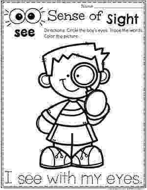 5 senses coloring pages for preschoolers 5 senses humrajali pages 5 for preschoolers coloring senses