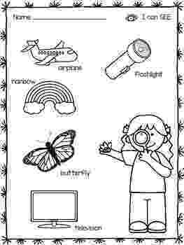 5 senses coloring pages for preschoolers five senses emergent reader with for senses pages coloring preschoolers 5