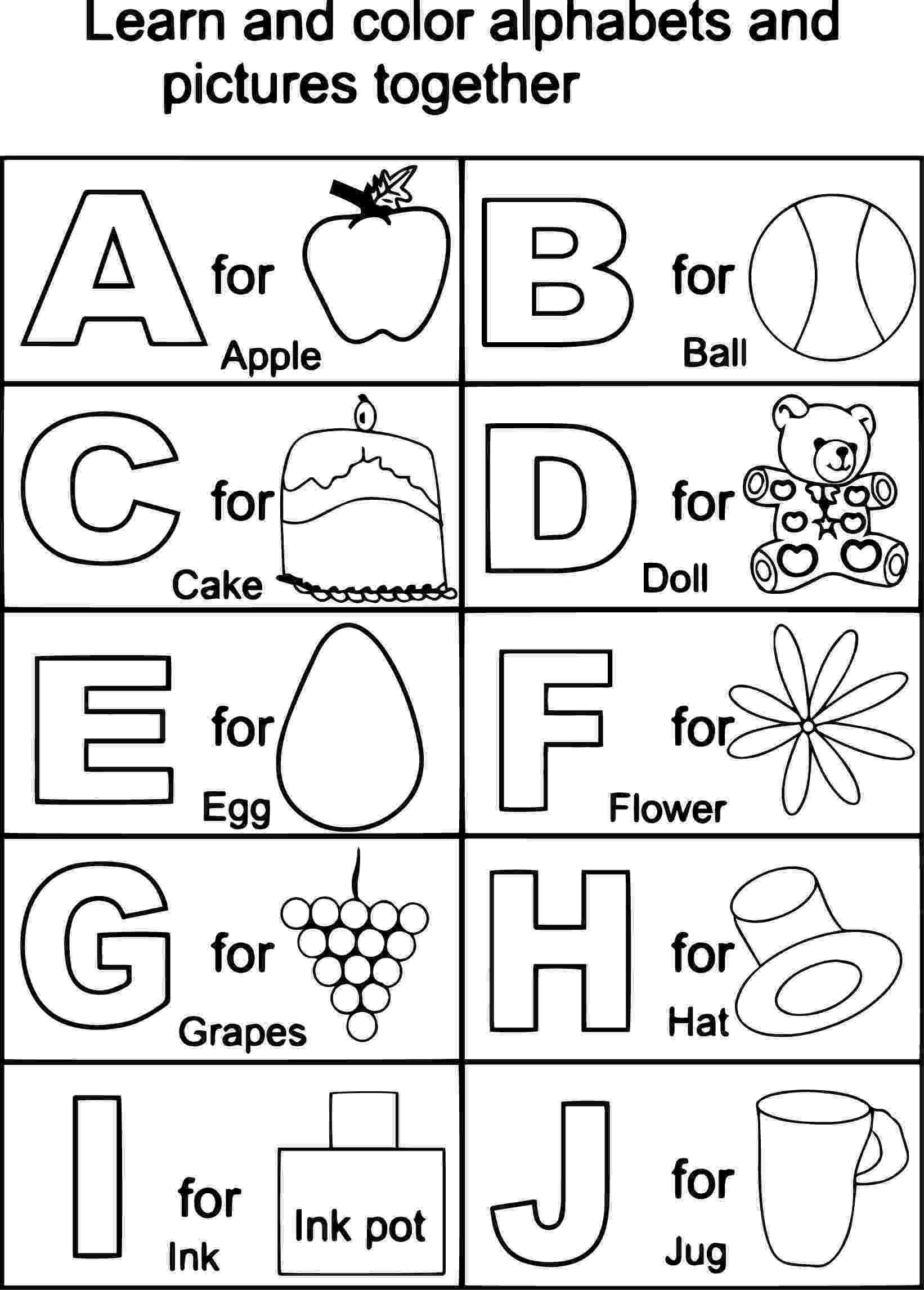 abc coloring book printable free printable alphabet coloring pages for kids best coloring book abc printable