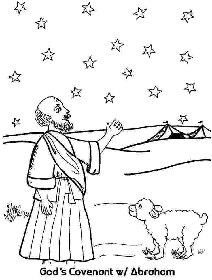 abraham coloring sheet abraham and gods promise coloring page coloring sheet abraham