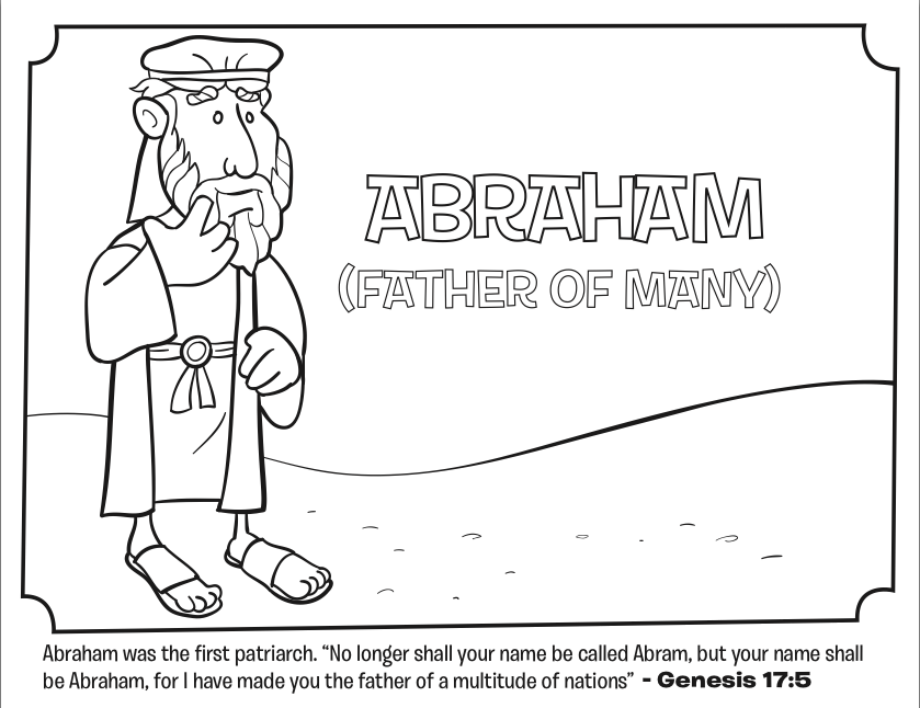 abraham coloring sheet abraham bible coloring pages what39s in the bible abraham sheet coloring