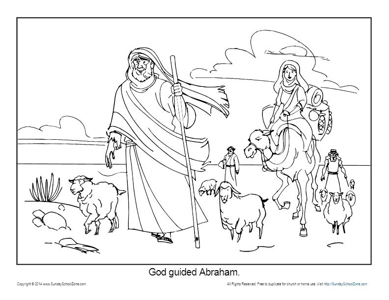 abraham coloring sheet abraham coloring page printable god guided abraham coloring sheet abraham
