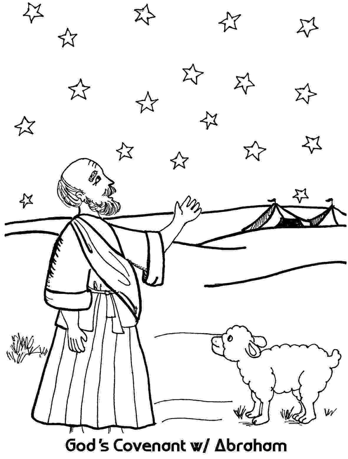 abraham coloring sheet abraham39s promise coloring page 2016 discipleland coloring abraham sheet