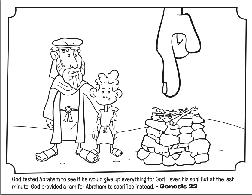 abraham coloring sheet gods covenant with abraham coloring sheet wesleyan kids coloring sheet abraham