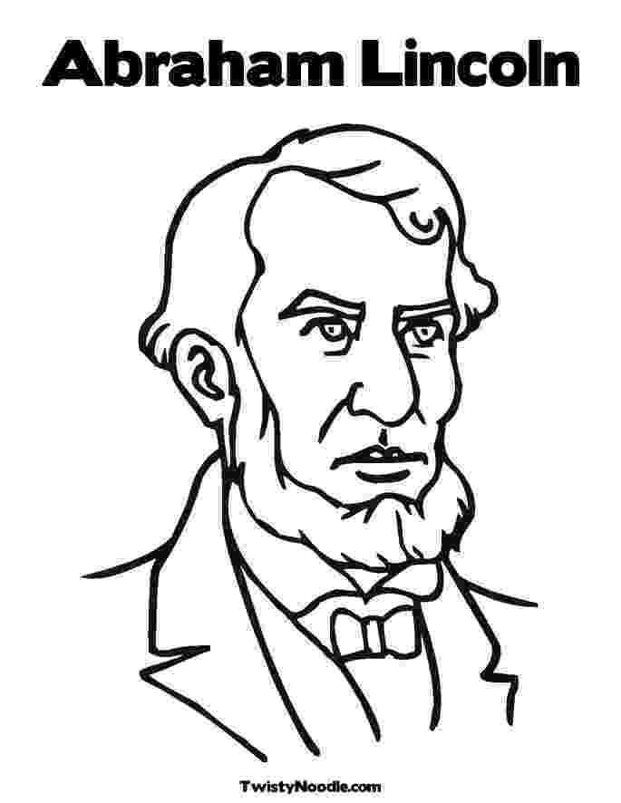 abraham lincoln color abraham lincoln coloring pages printable coloring home color abraham lincoln