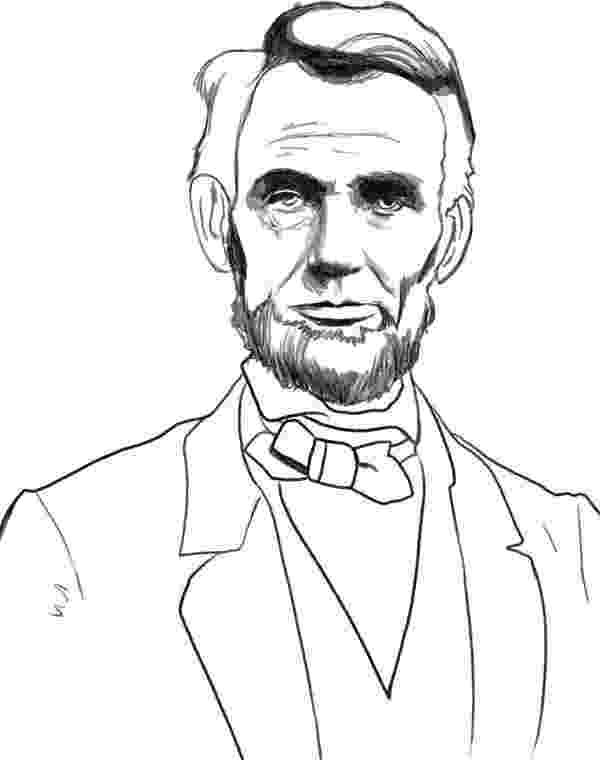 abraham lincoln color abraham lincoln drawing ideas and some of his greatness abraham color lincoln
