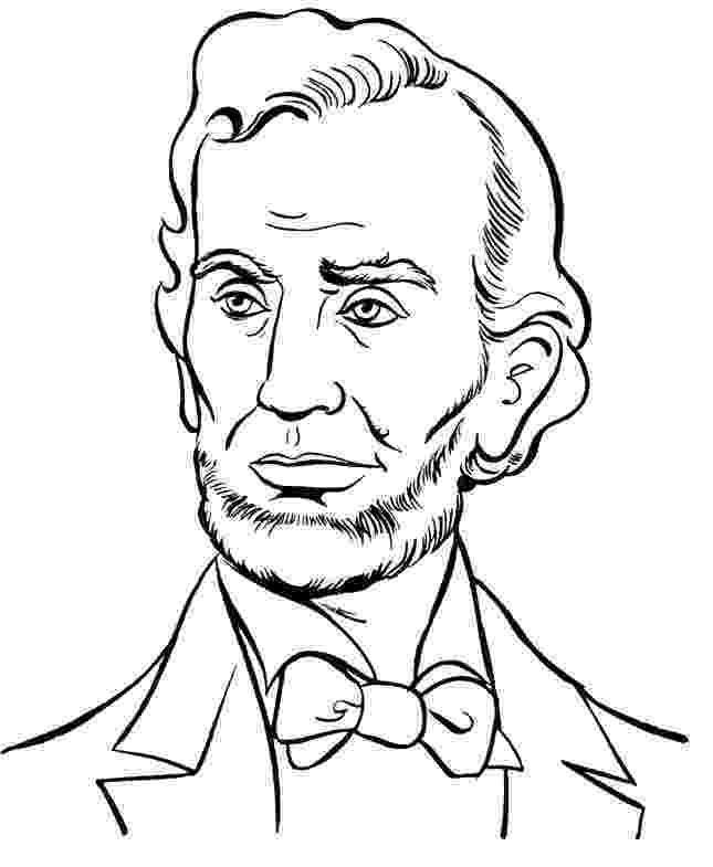 abraham lincoln color president abraham lincoln coloring pages president day abraham color lincoln