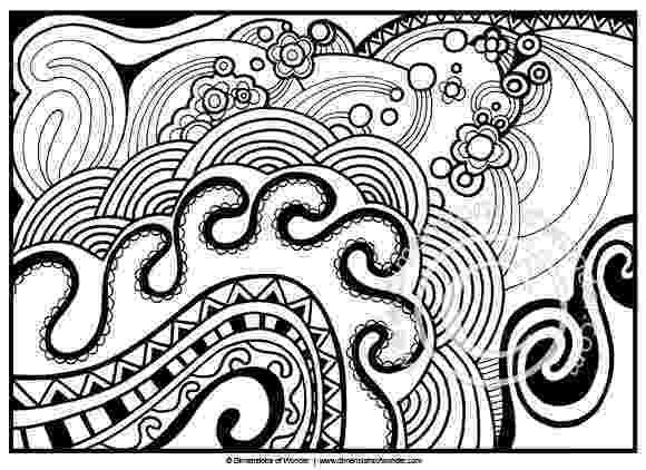 abstract coloring pages for adults and artists sun and ocean abstract free printable coloring pages abstract artists and coloring for adults pages