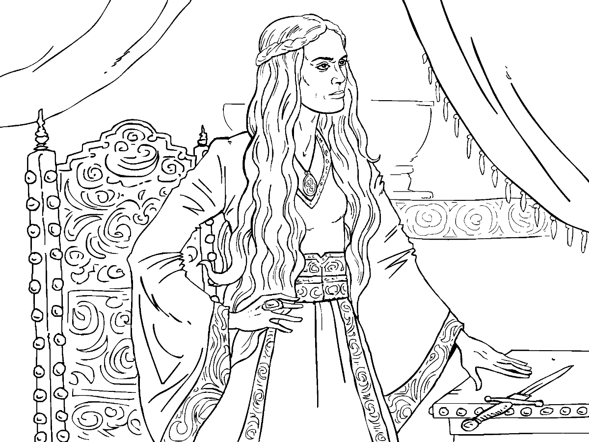 adult coloring games game of thrones colouring in page cersei colouring in coloring games adult