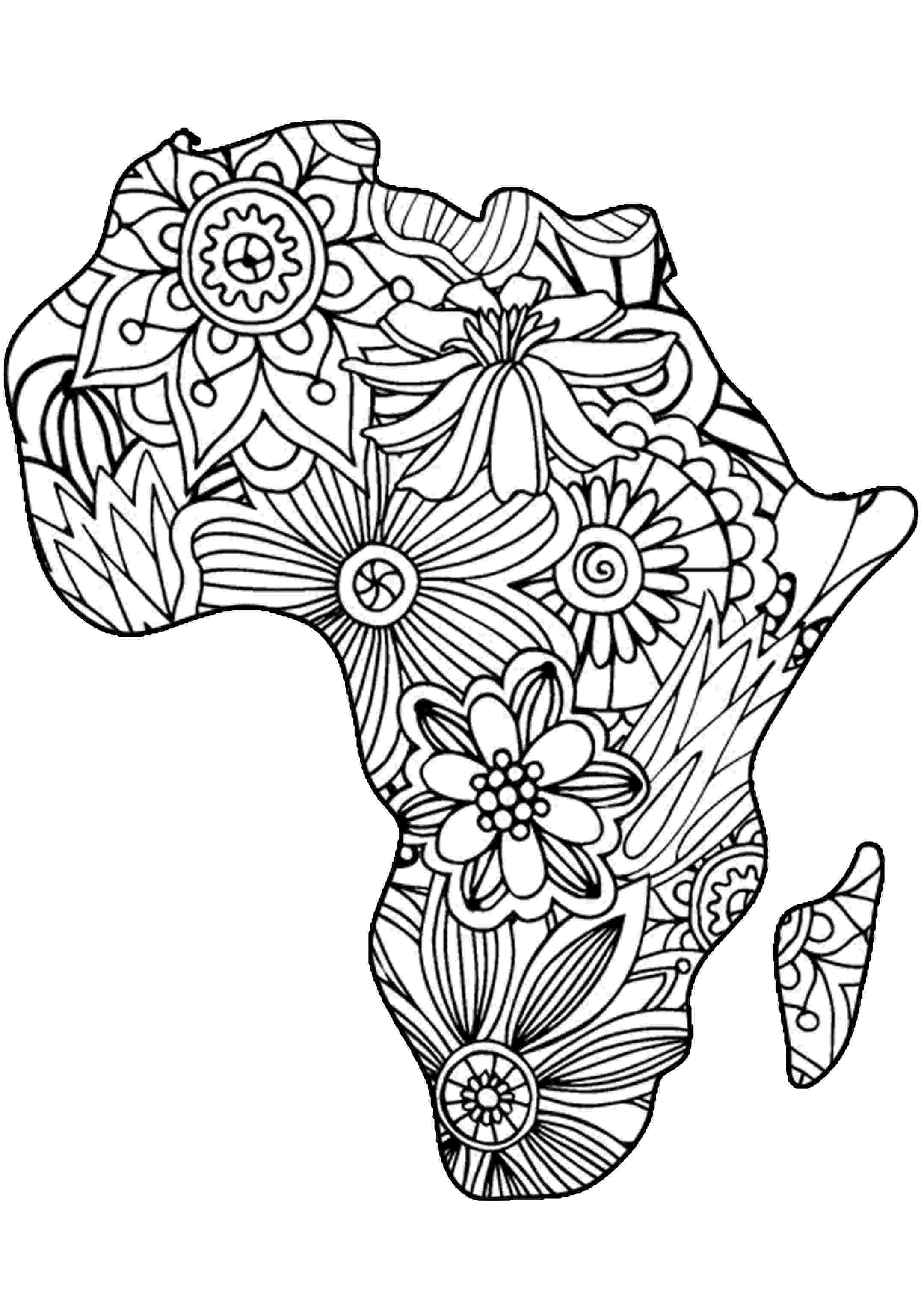 african coloring pages 17 best images about coloring on pinterest free pages african coloring
