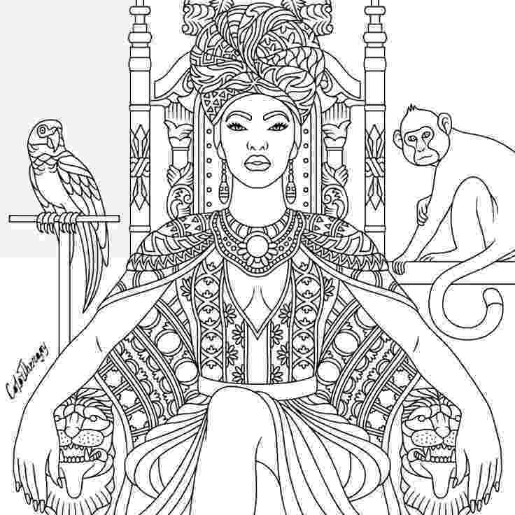 african coloring pages african woman portrait coloring page free printable pages african coloring