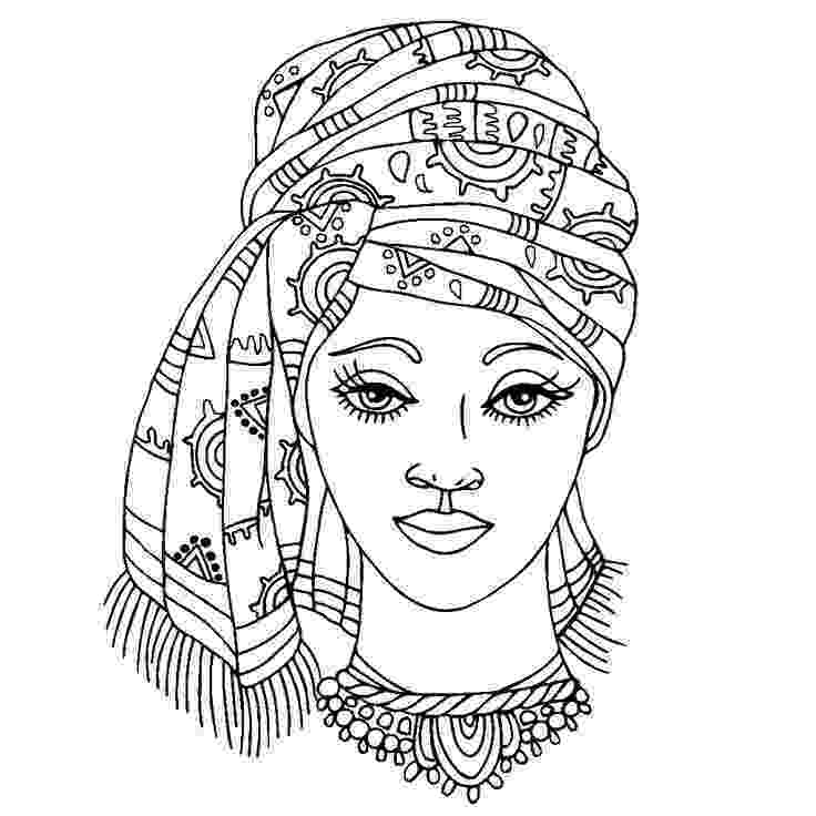 african coloring pages coloring book for adults indian african fashion coloring african pages