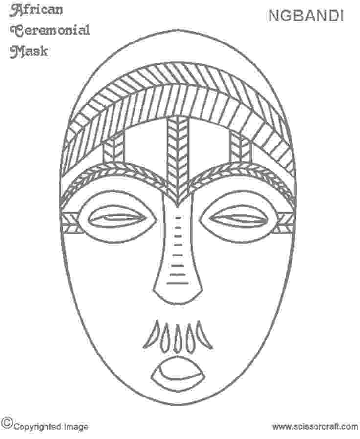 african mask template 8 best african masks template images on pinterest african mask template