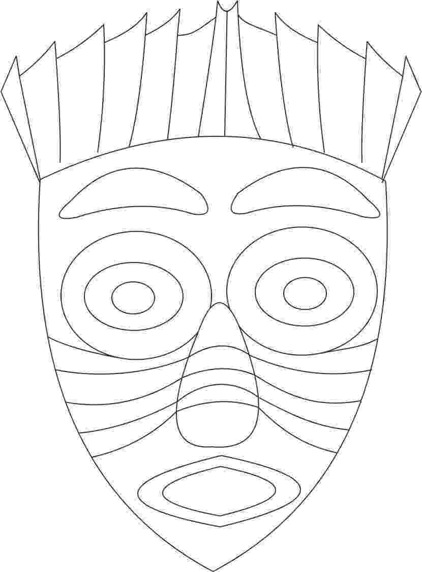 african mask template african masks for kids templates african tribal mask mask template african
