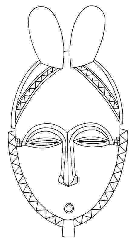 african mask template afro clip art this clip art image is designed to help template african mask