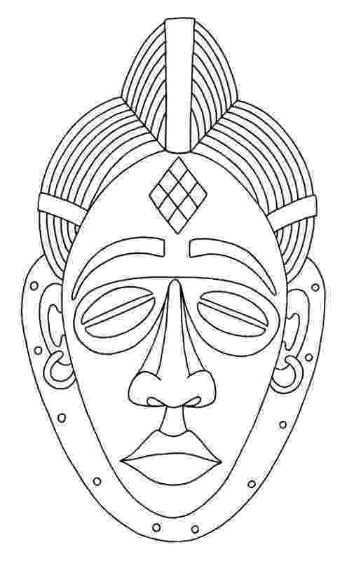 african mask template friday 41715 if you think reading is boring you39re african template mask