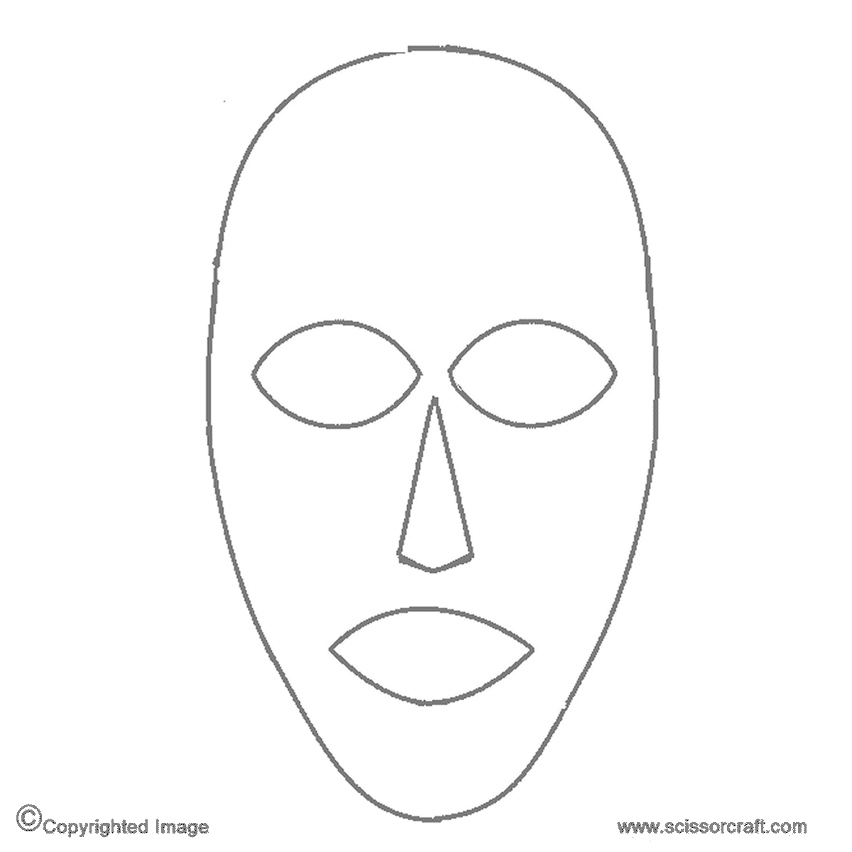 african mask template use the african mask as a coloring page or copy the template mask african